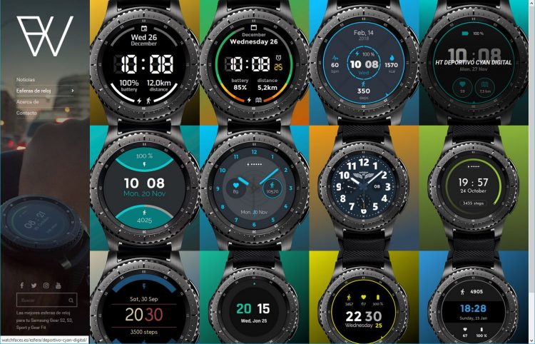 web watchfaces 2